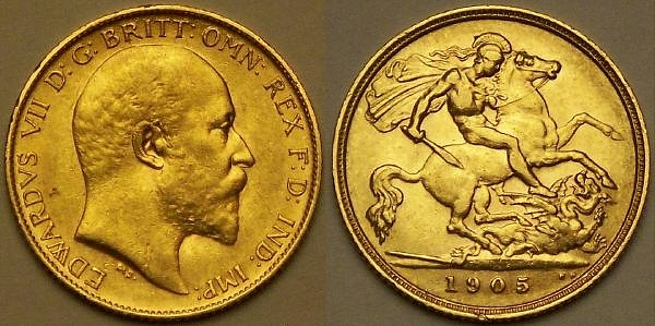 1905 half Sovereign from www.lainson.eu