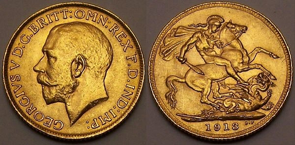 1913 half Sovereign from www.lainson.eu