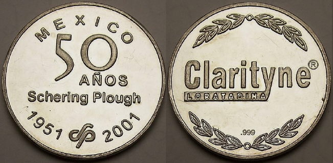 Mexican silver medals from lainson.eu