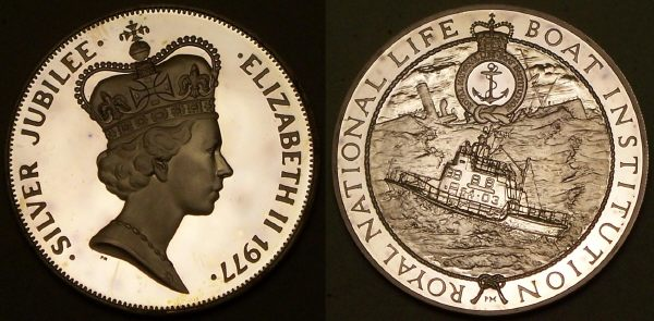 RNLI silver medal from www.lainson.eu