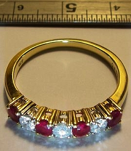 Ruby ring view