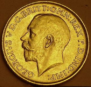 George 5th full Sovereign 1911